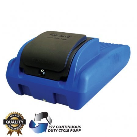 POLYCUBE Diesel Ute Tanks with Premium Pump Kits