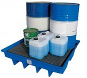 ULTRAFLO 205L Drum Spill Pallets