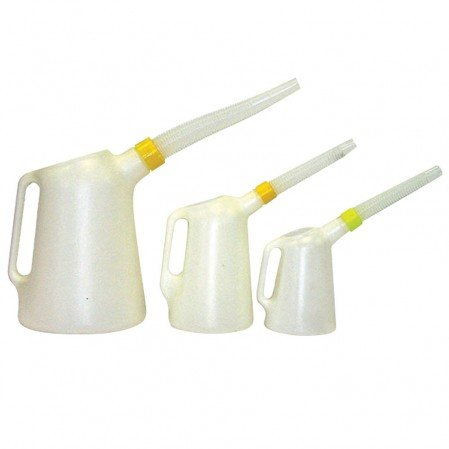 Oil Measuring Jugs with flexible outlet