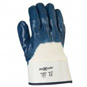 Safety Cuff Blue Nitrile 3/4 Dipped