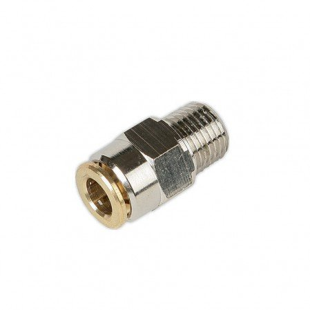 Push in Straight Connector (6mm tube)